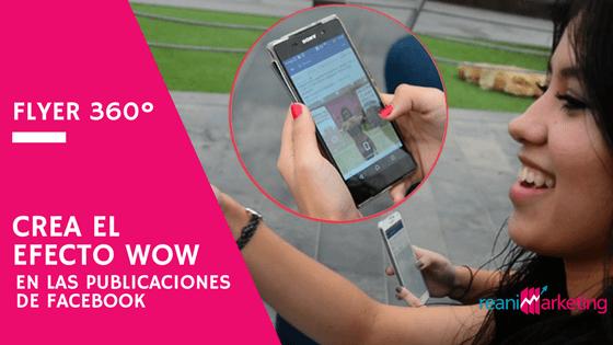 Llama la atención con CAMPAÑAS DE ANUNCIOS DE FACEBOOK EN 360º